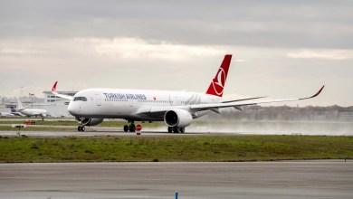Photo of İlk A350 seferi yapılıyor