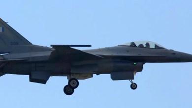 Photo of Yunanistan'ın modernize edilen ilk F-16'sı gökyüzünde