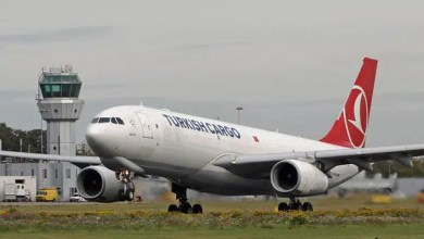 Photo of THY Kargo uçağının iniş takımlarında uçtu