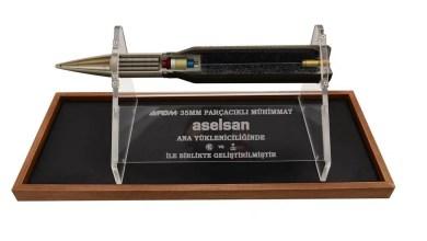 Photo of ASELSAN'dan 100 bininci  ATOM 35 mm Parçacıklı Mühimmat Elektroniği