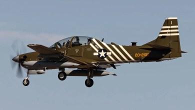 Photo of ABD Hava Kuvvetleri A-29'i 'retro' boyadı