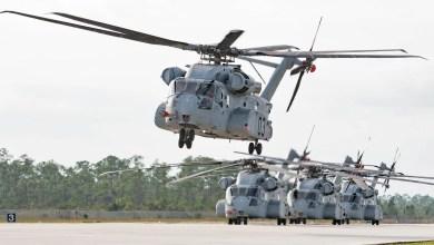 Photo of İsrail Sikorsky'den CH-53K alıyor
