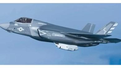 Photo of F-35 havada kendini vurdu