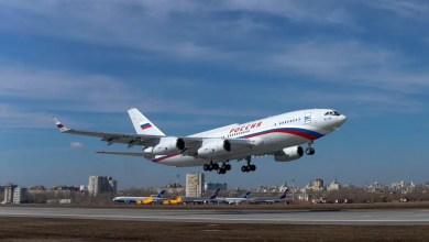 Photo of Ilyushin Il-96-300'e özel anten