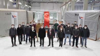 Photo of TUSAŞ ilk A321XLR parçasını teslim etti