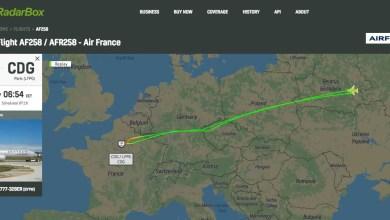 Photo of Rusya Air France uçağını geri yolladı