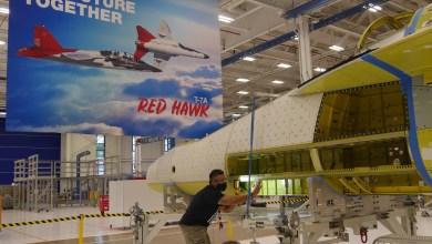 Photo of Dijital tasarım sayesinde ilk T-7A Red Hawk rekor sürede birleştirildi