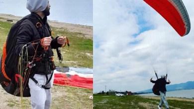 Photo of Yamaçparaşütü pilotuna 7 saat sonra ulaşıldı