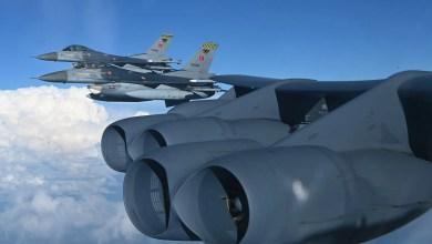 Photo of Türk F-16'ları ABD B-52'siyle Akdeniz'de uçtu