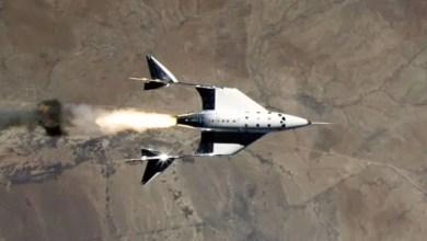 Photo of Virgin Galatic'ten başarılı uzay uçuşu