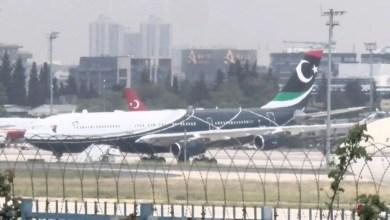 Photo of Kaddafi'nin A340 uçağı İstanbul'dan ayrıldı