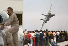 Photo of Efsane F-14 pilotu uçak kazasında öldü