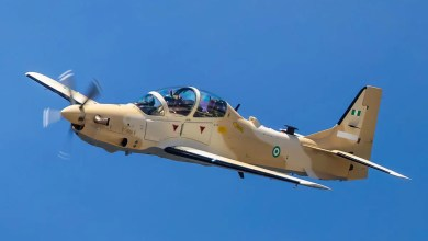 Photo of Nijerya 6 adet A-29 teslim aldı