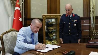 Photo of 17 general ve amiral bir üst rütbeye terfi etti