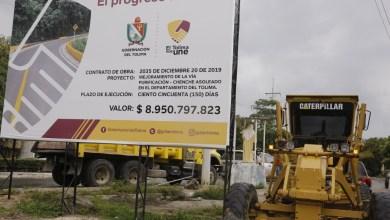 Photo of Gobierno Departamental dio inicio a la pavimentación de la vía Purificación – Chenche Asoleado
