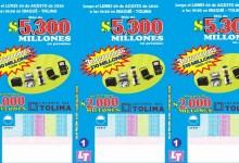 Photo of La Lotería del Tolima continúa premiando a sus clientes