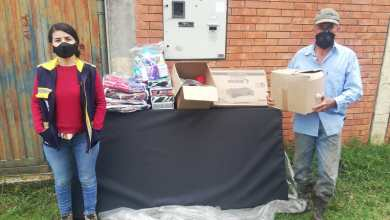 Photo of Ayudas humanitarias para las familias damnificadas por fuertes lluvias en Tapias