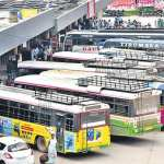 rtc private travels bus owners notice to warangal rtc regional manager over clears pending bills