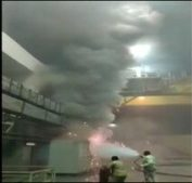 Fire At Srisailam Plant Power House: Six Personnel Rescued, Nine Still Trapped