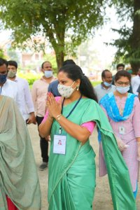 TRS Candidate, Former MP Kavitha Wins Nizamabad MLC By-election