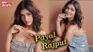 Actress Payal Rajput Latest Stunning HD Stills