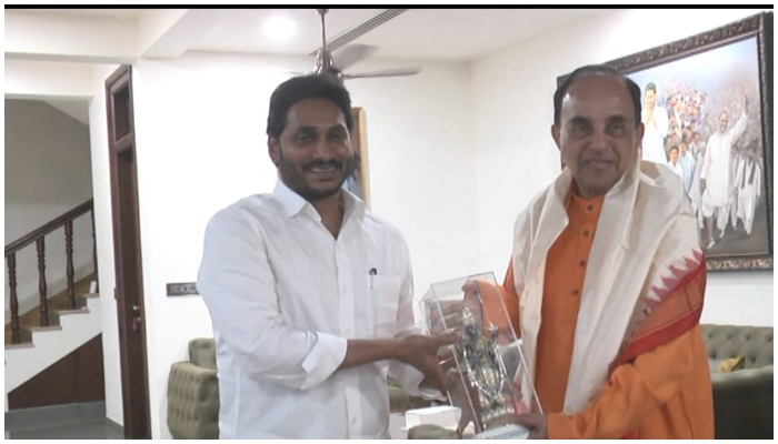 Subramanya Swamy Meets Jagan .. Key Remarks On Steel Plant » Trending » Prime Time Zone