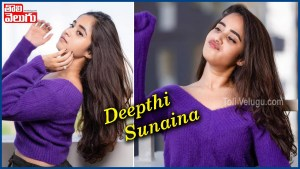 Bigg Boss Beauty Deepthi Sunaina Latest Glamorous Photoshoot