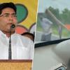 మమతా బెనర్జీ మేనల్లుడి కారుపై దాడి..!