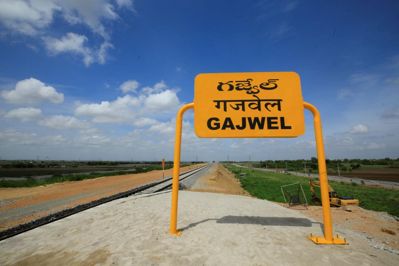 SCR: New Line Between Manoharabad-Gajwel Commissioned, Part Of State-Centre Partnership Project - RailPost.in