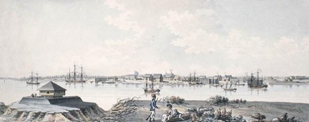 Saint-Jean, Québec. v. 1784 Fort et blockhaus