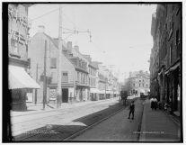 Rue Saint-Jean, entre 1900 et 1906. / St. John St., Quebec