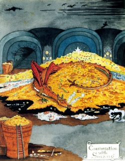 Image result for hobbit smaug book