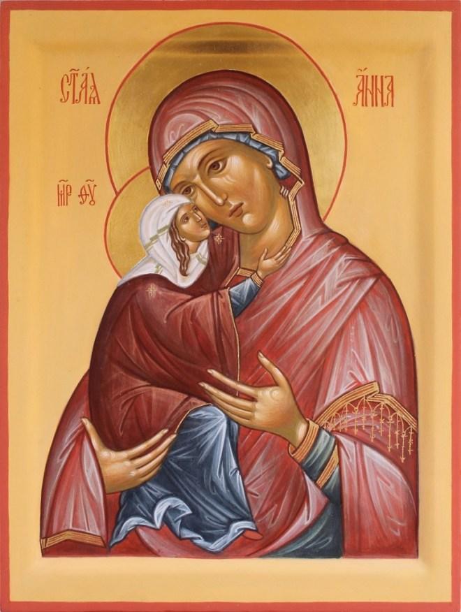 Молитвы Анне Матери Богородицы
