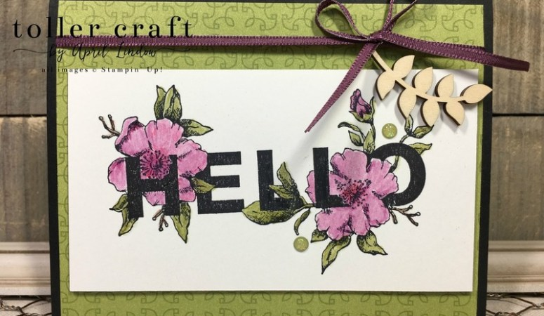 Foral Statements – Hello
