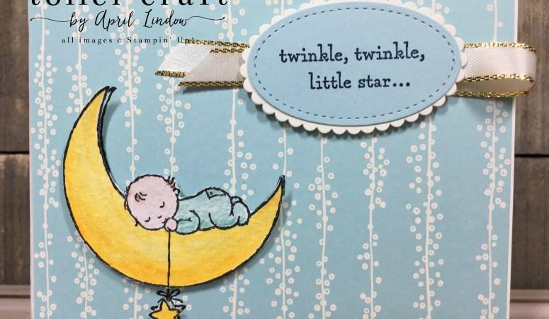 Moon Baby Gift Card Holder