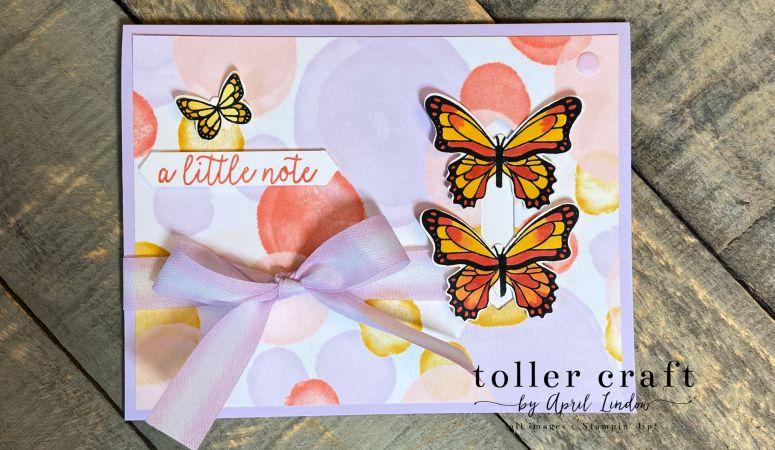 Butterfly Gala Card