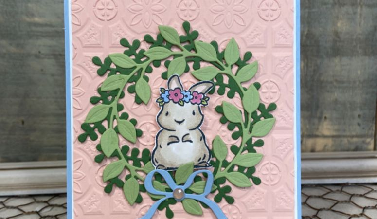Springtime Joy & Wreath Builder Dies