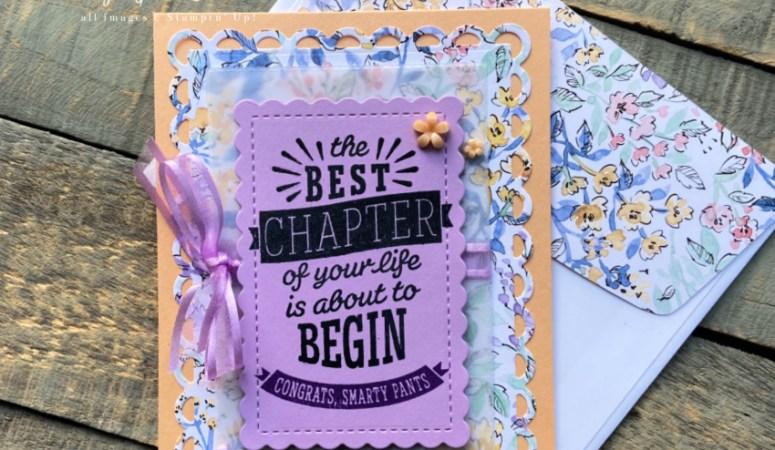 Best Chapter Graduation Card