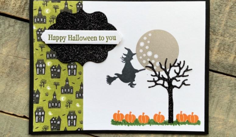 Frightfully Cute Halloween Card