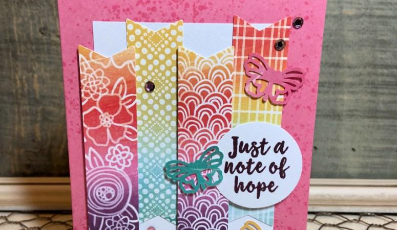 Hope Box Paper Pumpkin with Alternate Designs