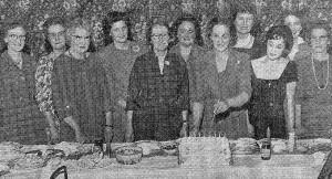 Tollerton WI 1962 - 25th Anniversary