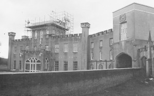 Castellations bring removed from St Hughs 1977
