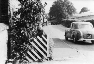 Speeding Traffic Toll land c1957