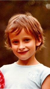 Me at age 9