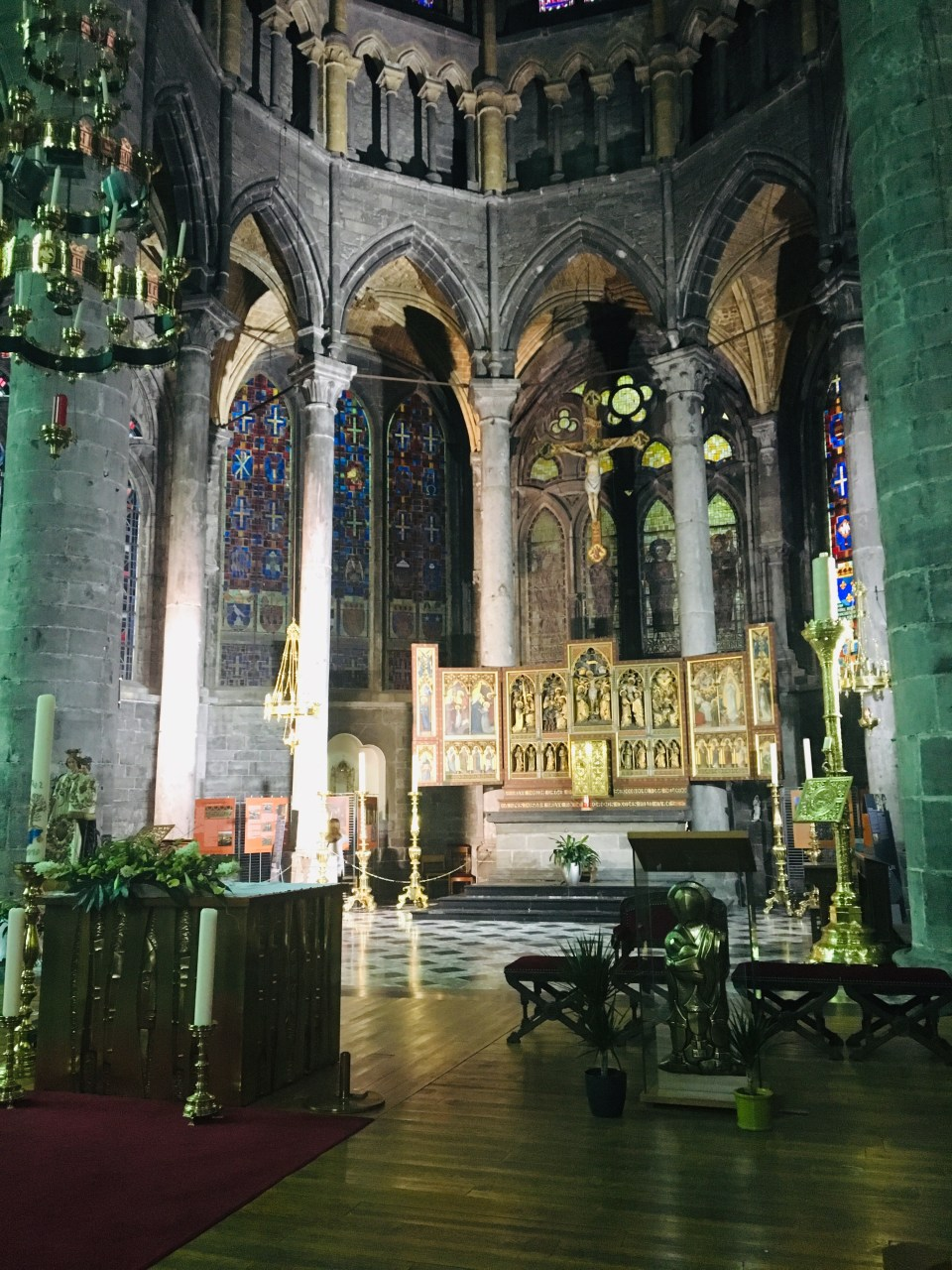 Dinant Belgium Cathedral