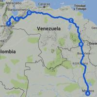 Ruta de la yihad a través de Venezuela
