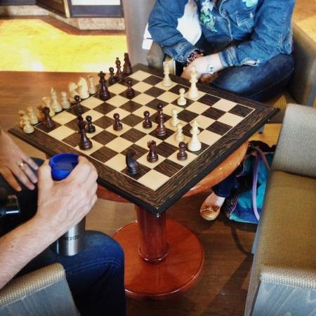 20 Two Player Games to Play with Your Husband   To Love  Honor and     Couple Playing Chess  Plus 20 other suggestions for 2 player games to play  as