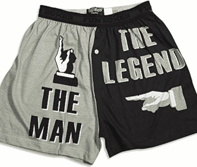 The Man The Legend Boxers Sexy Stocking Stuffers For Your Husband