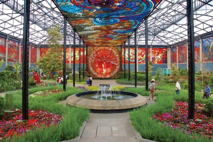 Jardín Botánico Cosmovitral