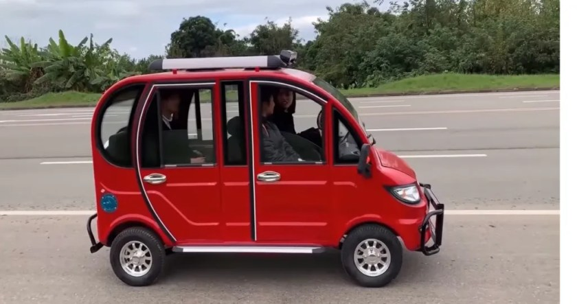 For only $ 20,000.00 pesos, buy this electric car
